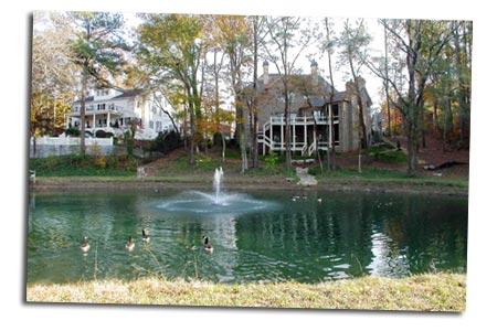 finished ponds