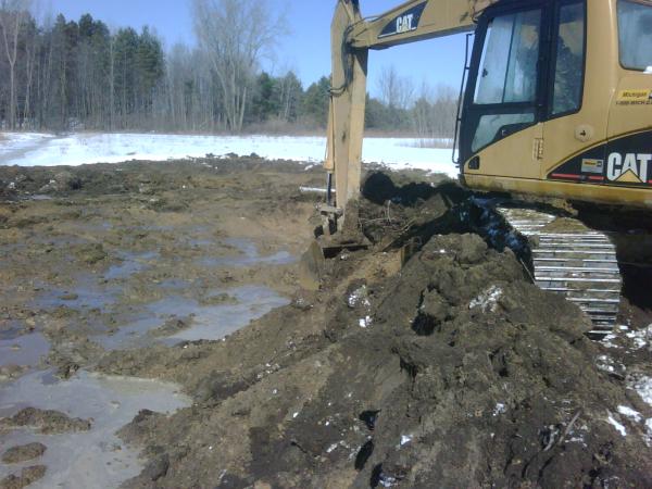 Novi Mi Detention Pond Maintenance Novi Michigan