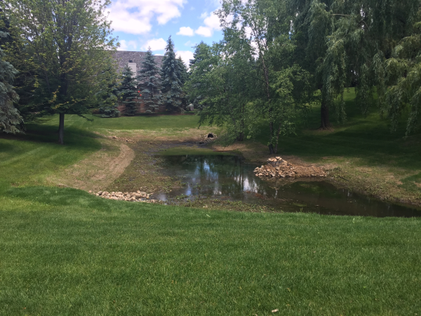 Bloomfield Hills  retention pond maintenance resized 600