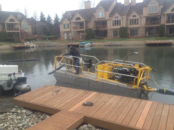 Northville, MichiganLake dredging Michigan  (N  Oakland county (53) resized 600