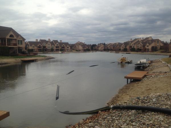 Northville, MichiganLake dredging Michigan  (N  Oakland county (61) resized 600