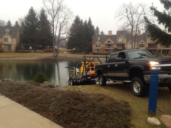 Northville, MichiganLake dredging Michigan  (N  Oakland county (11) resized 600