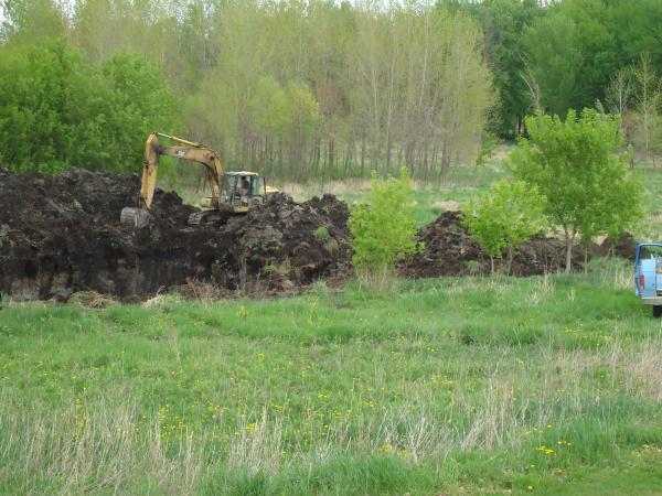 Potterville. Michigan N Michgan pond builder pond construction new pond Lansing (26) resized 600