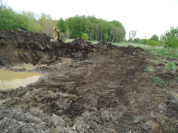 Potterville. Michigan N Michgan pond builder pond construction new pond Lansing (42) resized 600