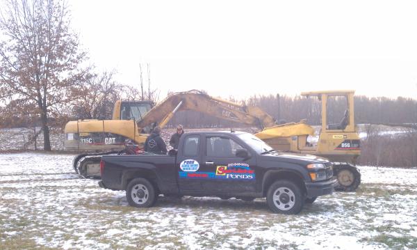 Perry, Michigan N DNR pond construction MDEQ fish pond Michigan (10) resized 600