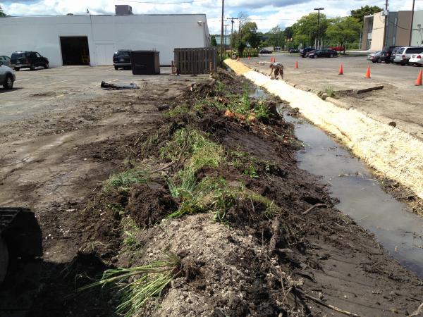 Southfield, Michigan Ditch restoration Michigan  Lear Group Ditch (45) resized 600