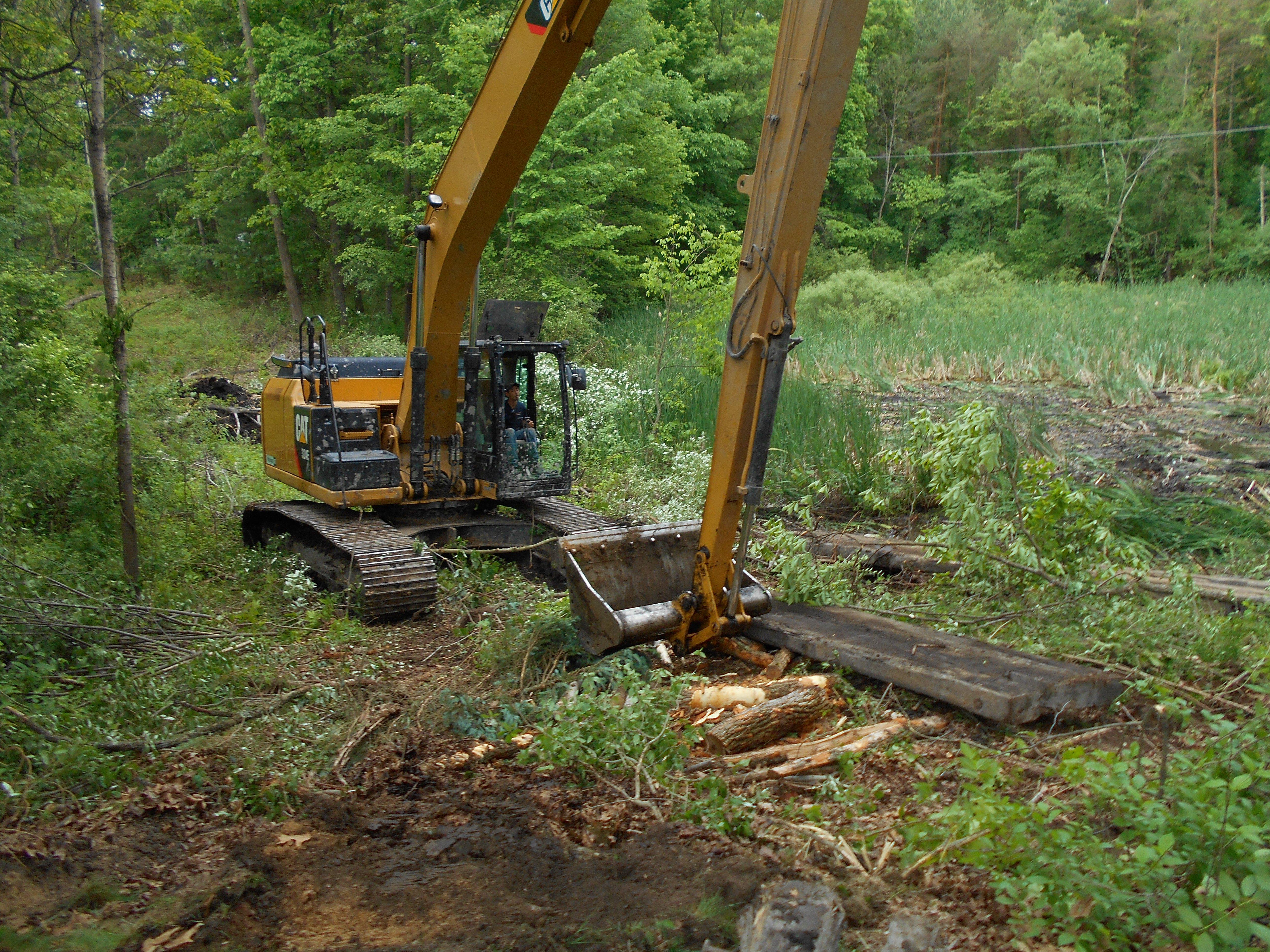 Ada, MI clean out swamp new pond (2) (N)