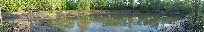 Ann Arbor Michigan Retention Pond Fix
