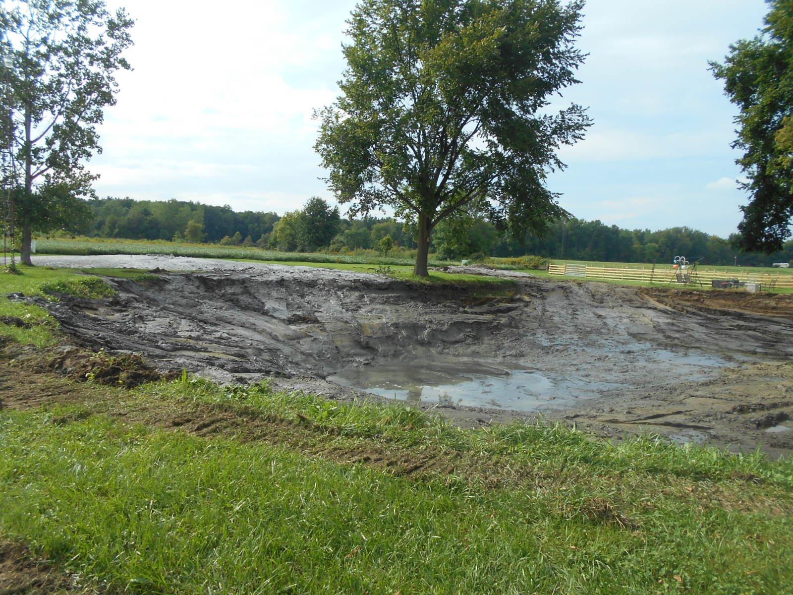 Burt, MI Pond Clean Out (8)
