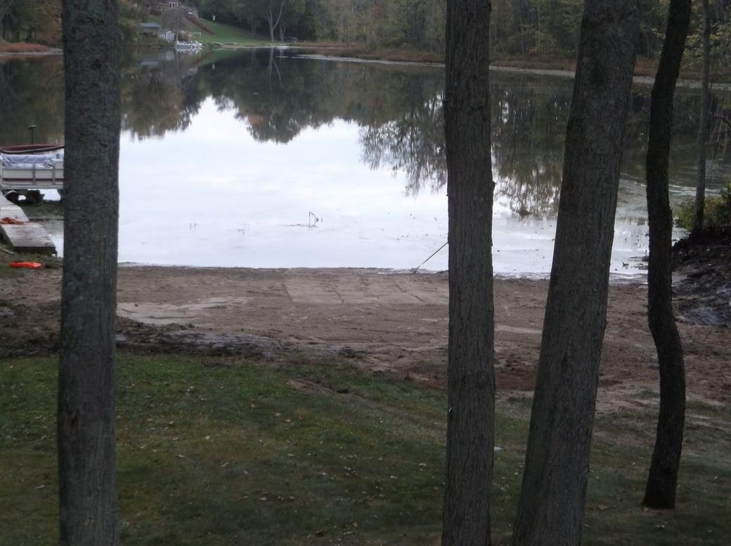 Dave lakefront dredge beach install Michigan (18)
