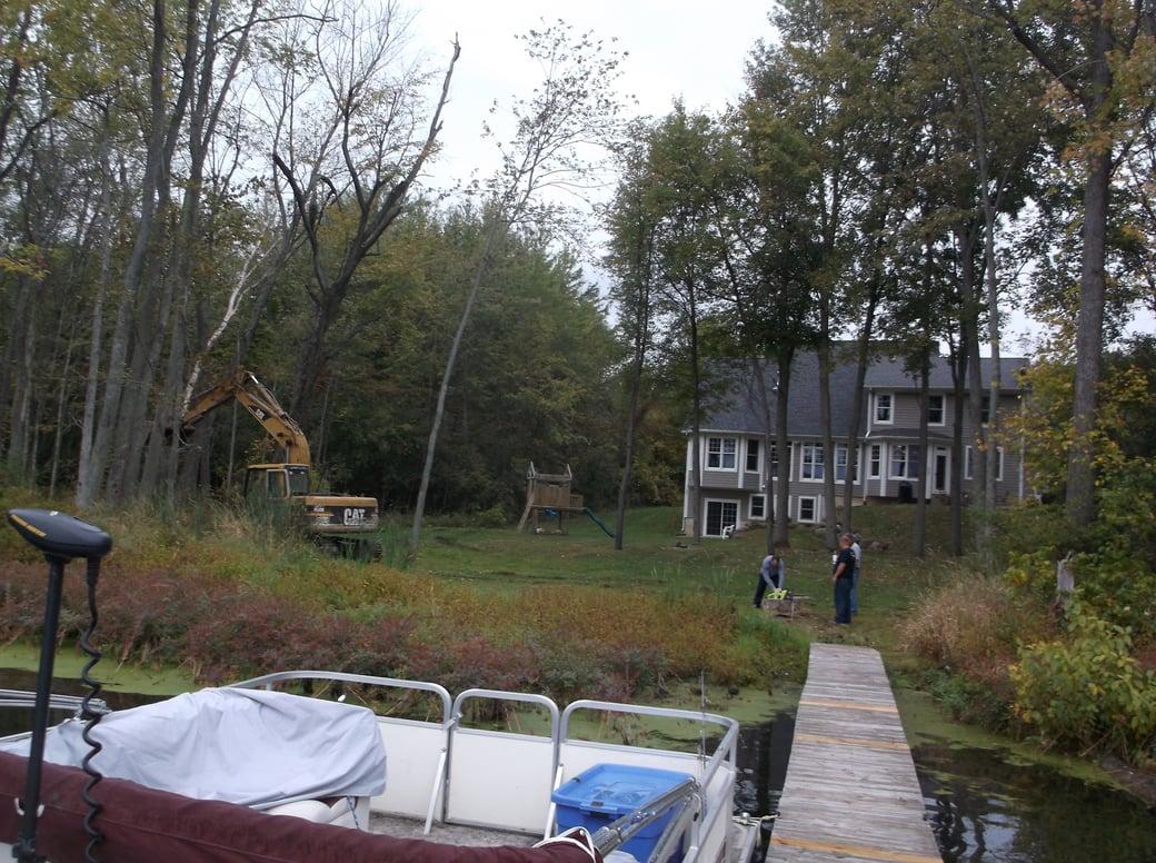 Dave lakefront dredge beach install Michigan (27)