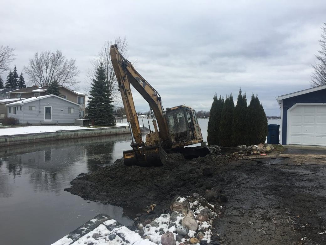 Houghton Lake, Michigan boat access dredging Michiagn  (118)