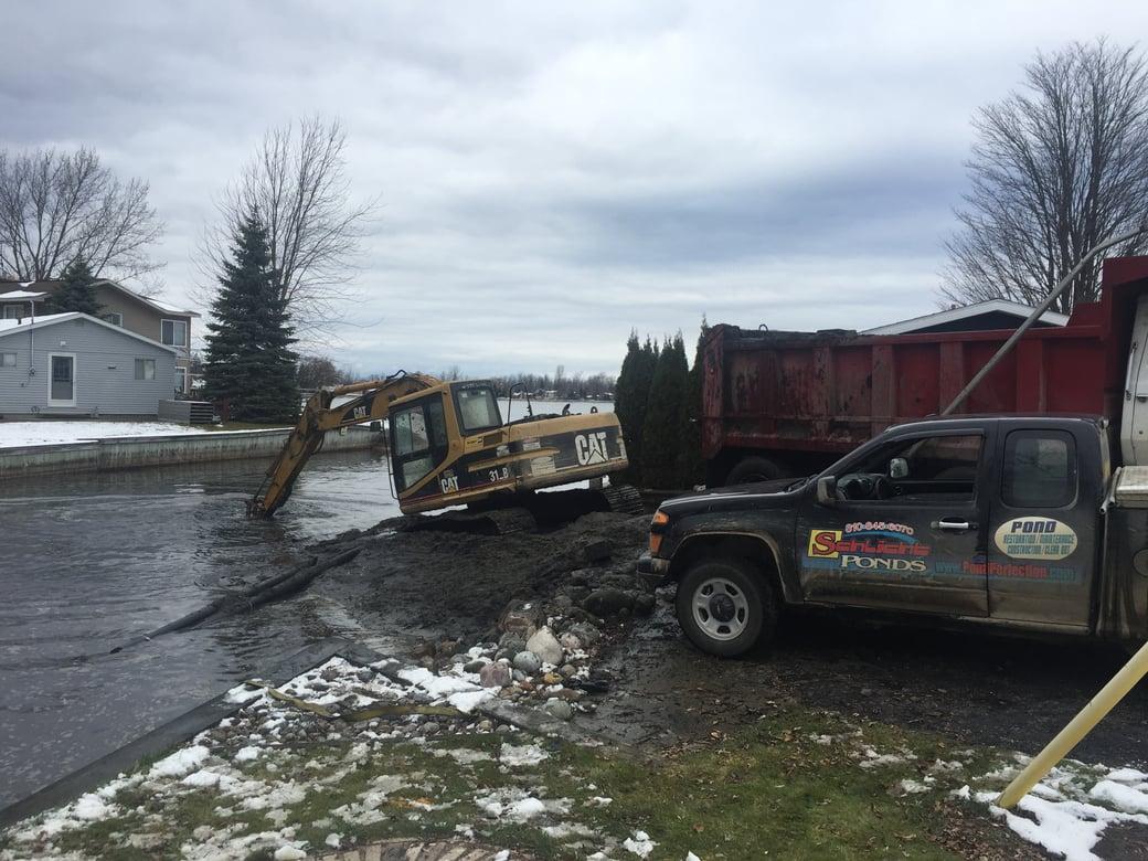Houghton Lake, Michigan boat access dredging Michiagn  (122)
