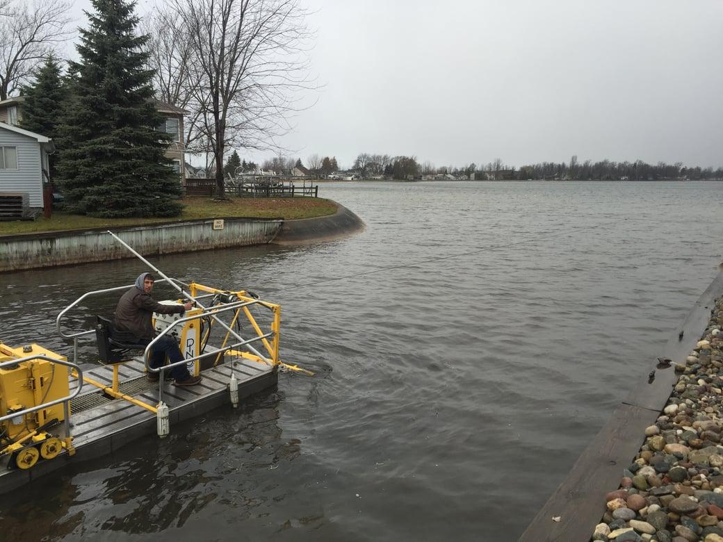 Houghton Lake, Michigan boat access dredging Michiagn  (54)