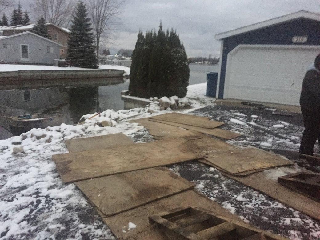 Houghton Lake, Michigan boat access dredging Michiagn  (95)