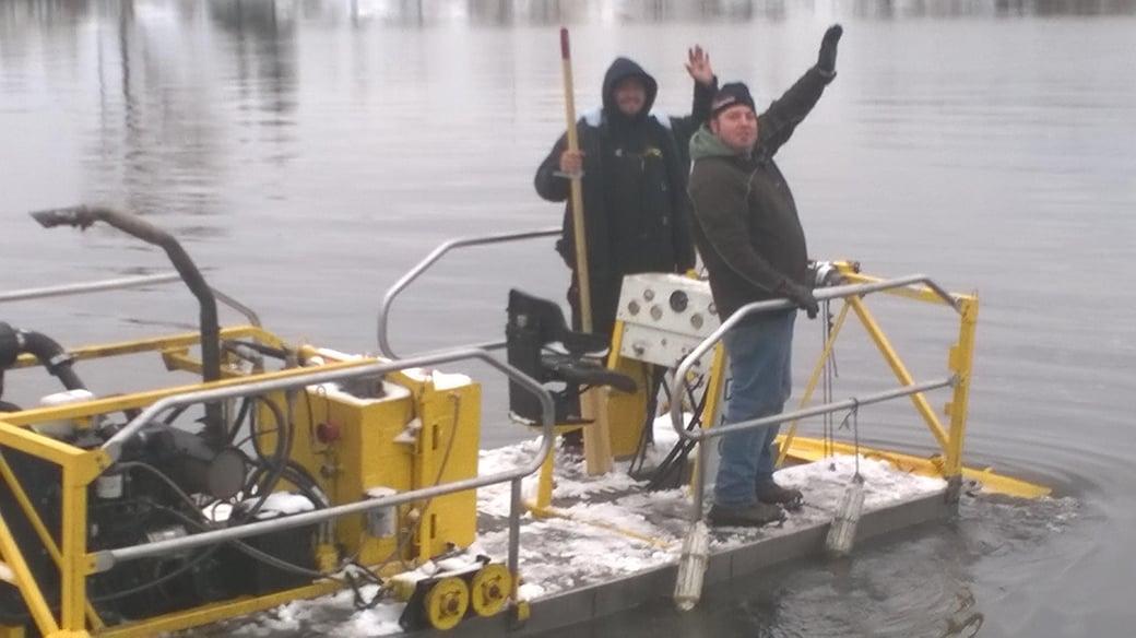 Houghton Lake, Michigan boat acess dredging Michiagn (117)