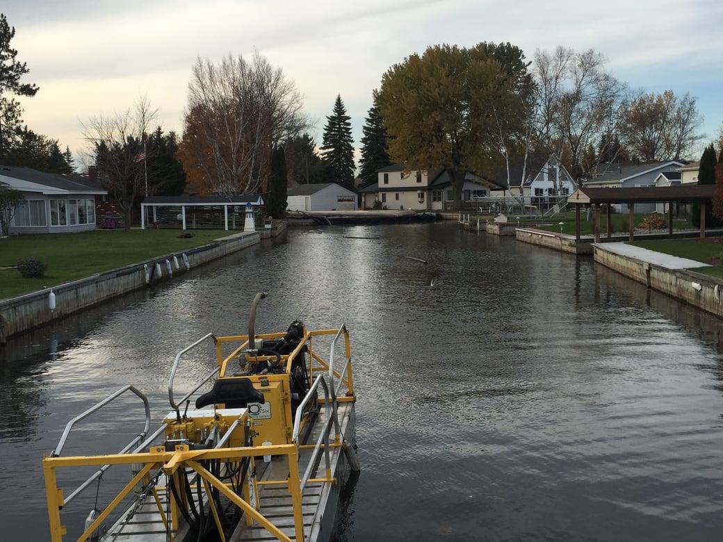 Houghton Lake, Michigan boat acess dredging Michiagn (4)
