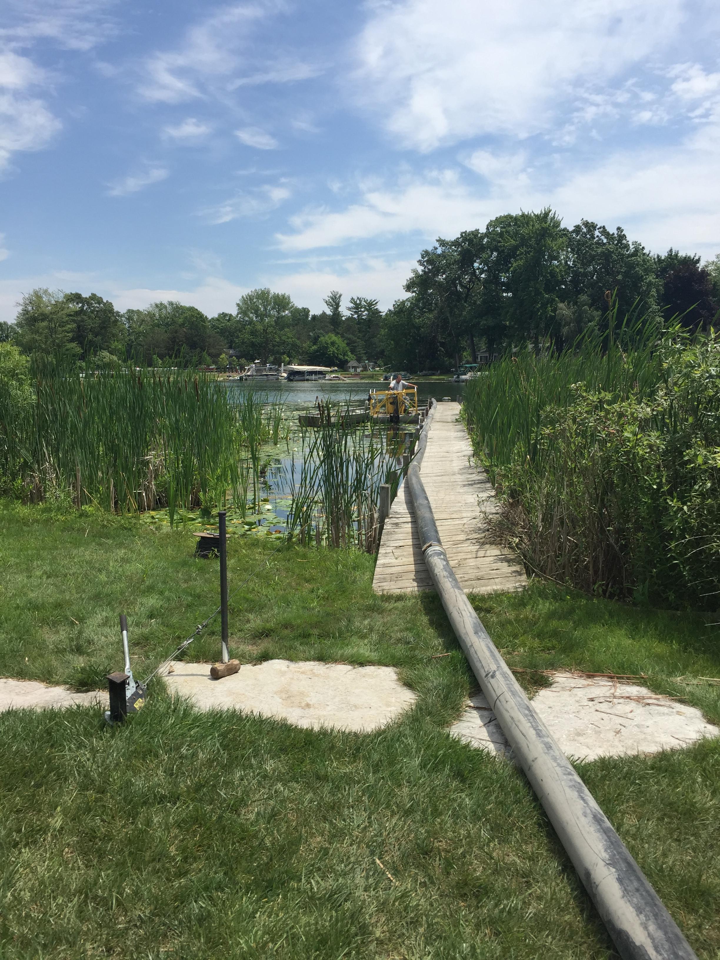 Fenton, Michigan lake front dredge  (20).jpg