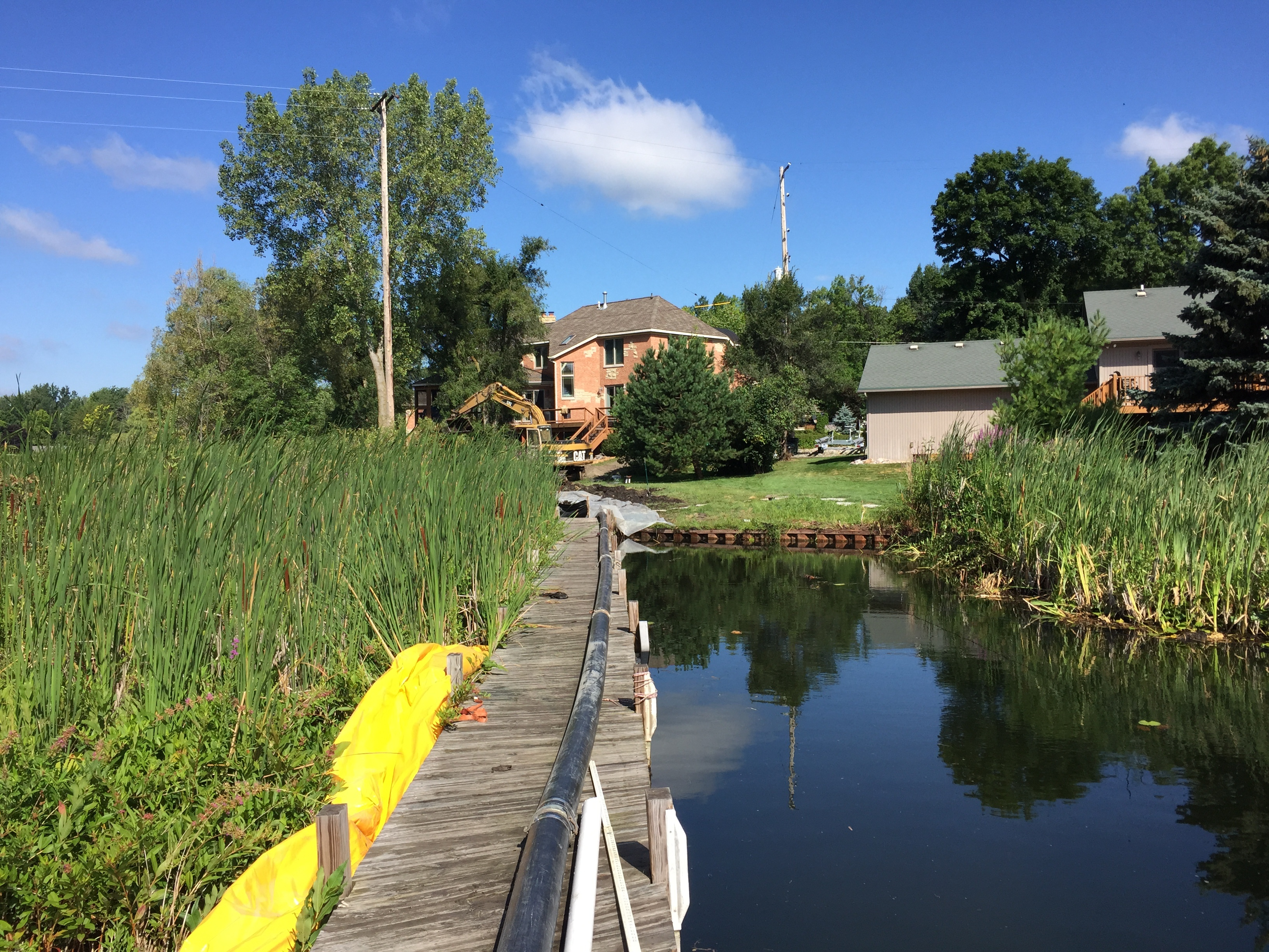 Fenton, Michigan lake front dredge  (6).jpg